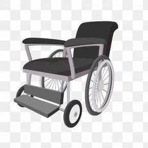 Vector Cartoon Wheelchair Material - Wheelchair Euclidean Vector Icon PNG