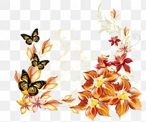 Butterfly - Butterfly Drawing Flower Clip Art PNG