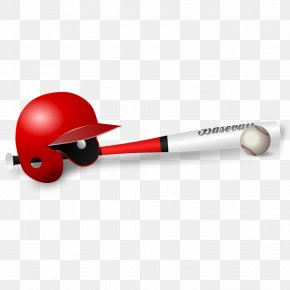 FIG Baseball Equipment - Baseball Bat Baseball Glove Batting Clip Art PNG