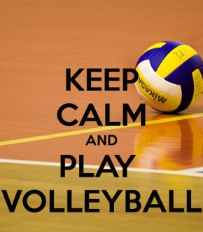 Volleyball - Volleyball Keep Calm And Carry On Play Game PNG