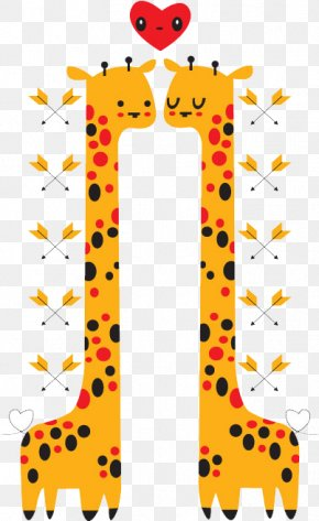 Giraffe - Giraffe Cartoon Illustration PNG