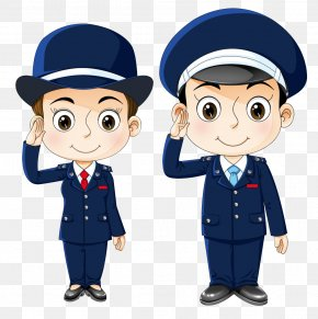Cartoon Police - Police Officer Cartoon Public Security PNG