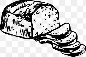 Bread Clipart - White Bread Rye Bread English Muffin Bread Pudding Clip Art PNG