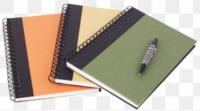 Notebook - Paper Notebook Pen Office Supplies PNG