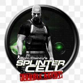 Splinter Cell - Tom Clancy's Splinter Cell: Double Agent PlayStation 3 Video Game Brand Logo PNG
