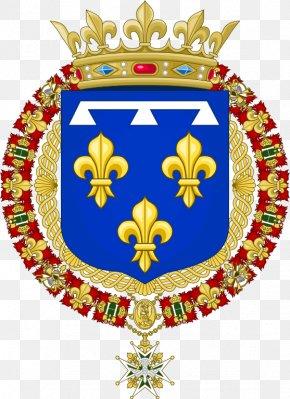 France - Kingdom Of France National Emblem Of France Coat Of Arms Flag Of France PNG