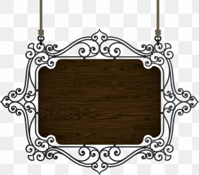 European Wood Brand - Signage Iron PNG