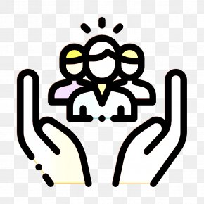 Line Art Social Care Icon - Human Relations And Emotions Icon Help Icon Social Care Icon PNG