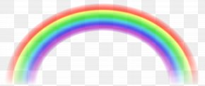 Transparent Rainbow Free Clip Art Image - Rainbow Sky PNG