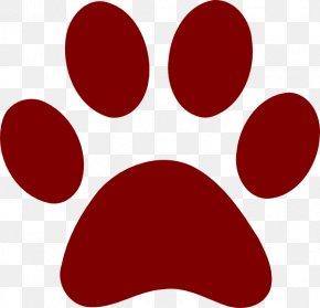 Cougar Paw Print - Bulldog Bear Paw Cat Clip Art PNG