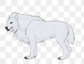Lion - Lion Gray Wolf DeviantArt Sketch PNG