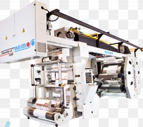 Flex Printing Machine - Machine Printing FLEXI-VEL S.A De C.V Printer Industry PNG