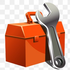 Cartoon Toolbox - Toolbox Wrench PNG