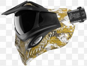 Mask - Goggles Mask Paintball Glass Gold PNG