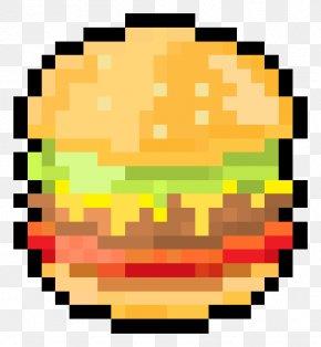 Minecraft Hamburger Pixel Art - Hamburger Pixel Art PNG