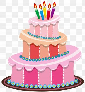 Pink Birthday Cake Clipart - Birthday Cake Clip Art PNG