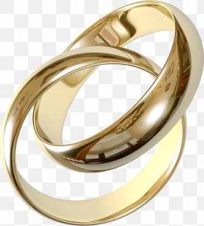 Wedding Golden Rings Image - Wedding Ring Engagement Ring Clip Art PNG