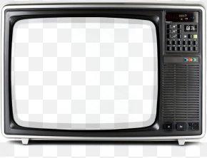 Black Retro TV - Don Draper Television Show Advertisement Film PNG