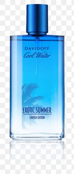 Cool Water - Perfume Cool Water Davidoff Woman Cosmetics PNG