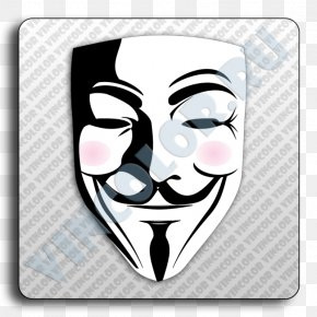 Mask - Decal Bumper Sticker Guy Fawkes Mask PNG