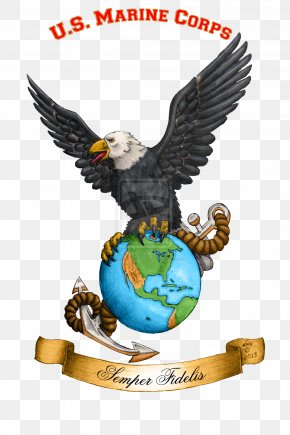 Eagle - Eagle, Globe, And Anchor United States Marine Corps Marines PNG