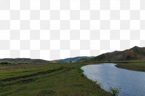 Green River Bank - Water Resources Land Lot Grassland Plain PNG