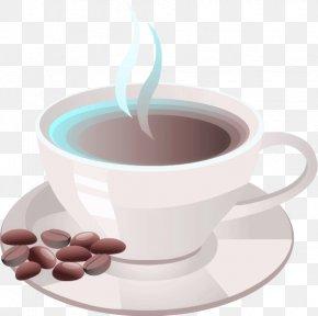 Vector Coffee Cup - Coffee Cup Espresso Clip Art PNG