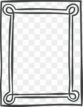 Personalized Black Frame - Designer Illustration PNG