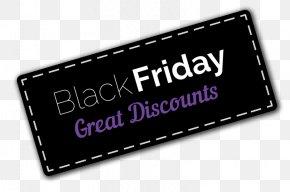 Black Friday - Sales Clip Art PNG