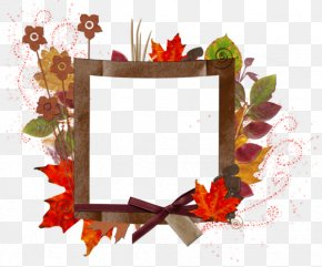 Leaf Frame - Picture Frame Autumn Photography Mobile App PNG