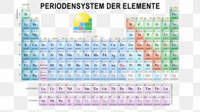 Chemie - Periodic Table The Elements Chemical Element Chemistry PNG