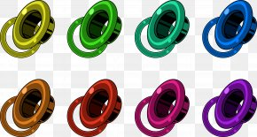 In Ear Headphones - Fashion Accessory Plastic In-ear Monitor PNG