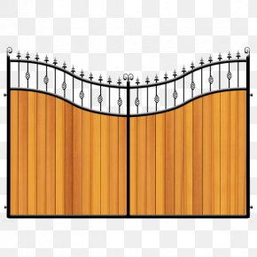 Iron Gates - Fence Gate Wrought Iron Aberdeen PNG