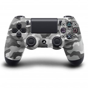 Playstation - PlayStation 4 Game Controllers DualShock Urban Camouflage PNG