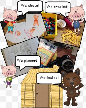 Pig - The Three Little Pigs The Three Little Wolves And The Big Bad Pig Fairy Tale The Little Red Hen PNG