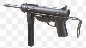 Weapon - Trigger Firearm Call Of Duty: WWII M3 Submachine Gun Grease Gun PNG