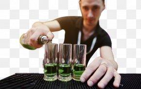 Bartender's Man - Liqueur Bartender PNG