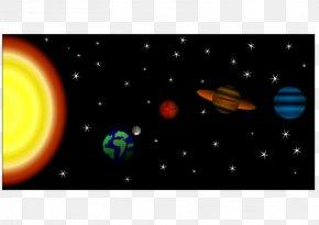 Solar System - Sistema Solar / Solar System Planet Inkscape Clip Art PNG