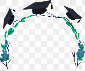 Graduation Season Art Poster Free - Poster Graduation Ceremony Download PNG