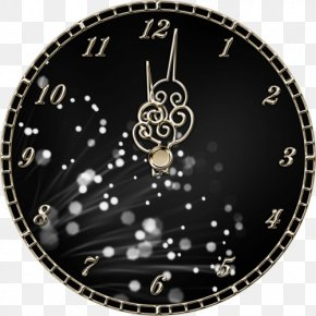Creative Clock To Pull Free - Clock New Years Eve Midnight PNG