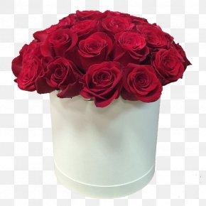 Flower Box - Flower Bouquet Box Garden Roses PNG