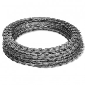 Barbwire - Barbed Tape Barbed Wire Concertina Wire Galvanization PNG