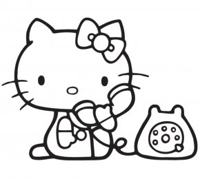 Hello Kitty Coloring Book Family Png 512x512px Hello Kitty