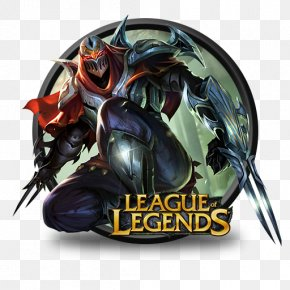 Zed Hd - League Of Legends Icon PNG