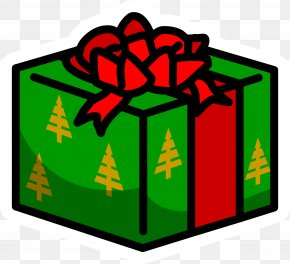 Present - Club Penguin Gift Party Christmas PNG