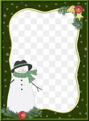 Snowman Border - How The Grinch Stole Christmas! Snowman Paper PNG