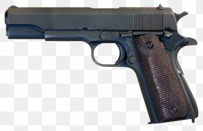 Handgun Image - M1911 Pistol Firearm Numrich Gun Parts .45 ACP PNG