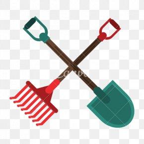 Shovel - Shovel Garden Tool Rake Agriculture Attrezzo Agricolo PNG