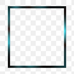 Simple Square Frame - Square Text Area Picture Frame Pattern PNG