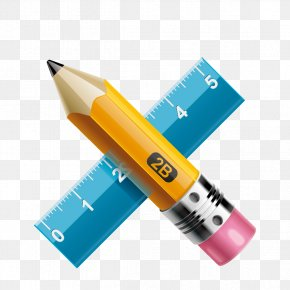 Vector Pen Ruler - Emirates Future International Academy Icon PNG
